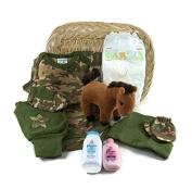 Sunshine Gift Baskets - Camo Newborn Gift Set