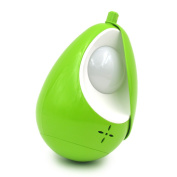 Puuli Mini Green Baby Care Lamp Portable USB Rechargeable Baby Sleep Lamp Unique Tumbler Design LED Eye-protective Lamp Night Soft Light with Lampshade Touch Switch