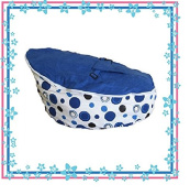 Baby Beanbags For Newborns to Toddler Kids Portable Bean Bag Seat Filled, Ready To Use (Babybooper Moo Moo)