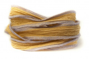 Lavender Tea Handmade Silk Ribbon