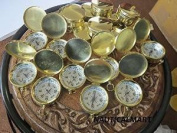 Brass Fully Functional 37mm Compass Set Of 10 Units