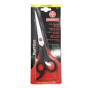 Mundial Red Dot 18cm - 1.3cm Barber Shears Scissors 663-7