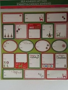 Christmas Wrap GIFT TAGS - Peel & Stick - To & From Labels For Presents