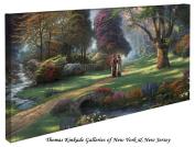 Walk of Faith - Thomas Kinkade 41cm X 80cm Gallery Wrapped Canvas