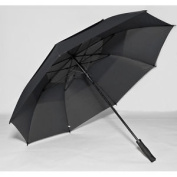 Elite Rain Frankford GF01-BK Fibreglass Golf Umbrella Black