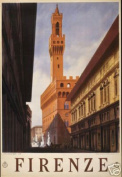 Hot Stuff Enterprise 6217-12x18-VA Firenze Florence Italy Poster