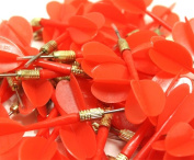 Brybelly Holdings GCVL-903-12 144 Pack Red Metal Tip Brass Balloon Darts