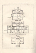 Buy Enlarge 0-587-04122-6P12x18 Villa in the Florentine Style no.2- Paper Size P12x18