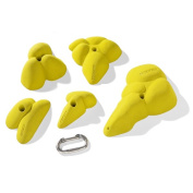 Nicros HHPM Large Galapagos Handholds - Yellow
