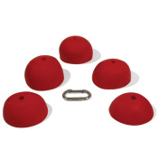 Nicros UHSH Andy Nelson Diff-Tex Round Slopers Handholds - Set of 5
