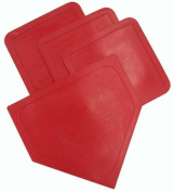 Olympia Sports BS021P Poly Baseball Bases - Red