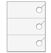 Ace Label 75022L 3-Up Standard Door Hanger Sheet