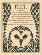 AzureGreen EPOWL Owl Poster