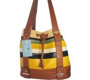Aryana Ashlyn3brn Brown Handbag With Top Zip Closure