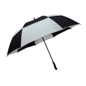 Peerless 2418PSOV-Black-Cool Grey The Legend Umbrella Black And Cool Grey