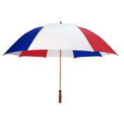 Peerless 2419WGF-Red-White-Royal The Mulligan Umbrella Red White And Royal