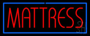 Sign Store N100-1346-outdoor Red Mattress With Blue Border Outdoor Neon Sign 32 x 33cm x 8.9cm .