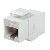 Ziotek 180 0584 CAT5e In-line Faceplate Coupler White