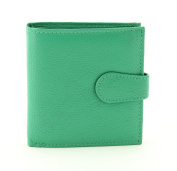 LEATHER BIFOLD WALLET WITH FLAP ID