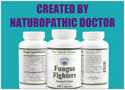 Fungus Fighters - Kills Candida, Yeast & Fungus on Many Patients! 180 caps - By Dr. Valerie Nelson