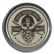 GRAVE BEFORE SHAVE Pine Scent Beard Balm (Pine/Cedar wood scent)