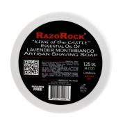 Razorock King of the Castle Lavender Montebianco Shaving Soap 120ml shave soap