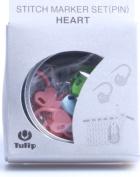 Tulip Stitch Marker Set 15/Pkg-Heart