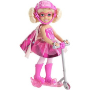 Barbie in Princess Power Scooter Doll, Pink