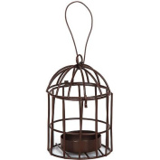 Timeless Miniatures, Metal Birdcage with Tealight Holder