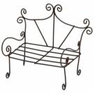 Timeless Miniatures-Rustic Garden Bench