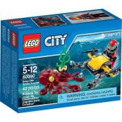 LEGO City Deep Sea Explorers Deep Sea Scuba Scooter, 60090