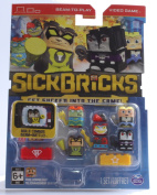 Sick Bricks Sick Team 5 Character Pack, Heroes vs Hollywood