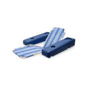 130cm Blue and White Striped Caribbean Floating Swimming Pool Comfort Lounge