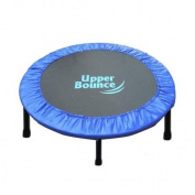 Upper Bounce Two-Way Foldable Rebounder 100cm Trampoline with Carry-on Bag