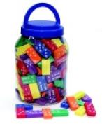 Chenille Kraft Wonderfoam Dominoes Set - Regular Size