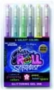 Sakura Non-Toxic Gel Pen Assorted Colour Set - 6
