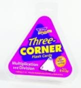 Trend Enterprises Three-Corner Multiplication And Division Flash Cards - Set - 46