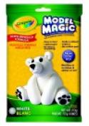 . Model Magic Non-Toxic Mess-Free Modelling Dough - 0.9kg. - White