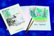Sax 22cm x 28cm . Sulphite Art Journal Drawing Paper White
