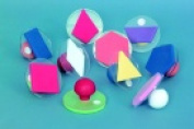 Ready2Learn Giant Geometric Shapes Stamp Set With Storage Case - Set - 10