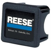 Reese 74547 Trailer Hitch Cover Receiver Plug - Black Blue White