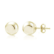 Lion Jewellers ESG13979-4 4mm. 14K Yellow Gold Ball Stud Earring