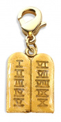Whimsical Gifts 1063G Ten Commandments Charm Dangle in Gold