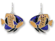 Zarah 32-07-Z1 Majestic Angelfish Ultrafine Silver Plate Earrings