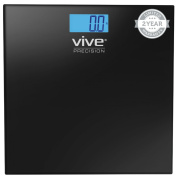 Digital Bathroom Scale by VIVE - Best Selling, Accurate Weight Scale - 2 Year Warranty