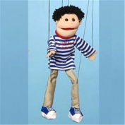 Sunny Toys WB1661 60cm Black Haired Boy, Marionette People Puppet