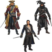 Assassin's Creed Golden Age of Piracy Figures 3-Pack