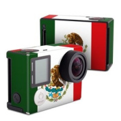 DecalGirl GPH4-MEXICO GoPro Hero4 Black Skin - Mexican Flag