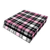 DecalGirl PS4-PLAID-PNK Sony PS4 Skin - Pink Plaid