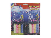 Bulk Buys PA081-54 Deluxe Birthday Candle Set